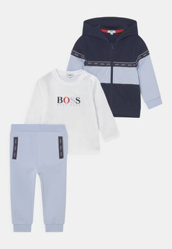 BOSS Kidswear - SET - Chaqueta de entrenamiento - pale blue