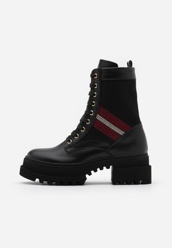 Bally - GIOIS - Plateaustiefelette - black