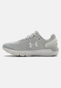 Under Armour - W CHARGED ROGUE 2 TWIST - Sportschoenen - halo gray
