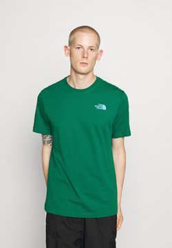 The North Face - MESSAGE TEE - T-shirt print - green
