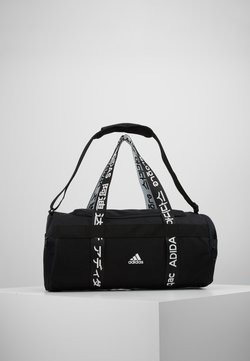 adidas Performance - ESSENTIALS 3 STRIPES SPORT DUFFEL BAG - Sportväska - black/white