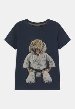 The New - UKE - T-shirt print - navy blazer