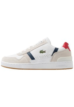 Lacoste - T-CLIP - Sneaker low - white/navy/red