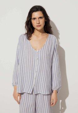 OYSHO - Nachtwäsche Shirt - blue