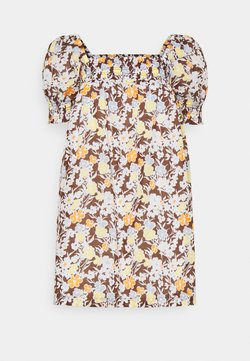 Tory Burch - SMOCKED MINI DRESS - Freizeitkleid - lucky meadow