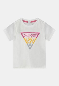 Guess - UNISEX - T-shirt print - pop pineapple lime