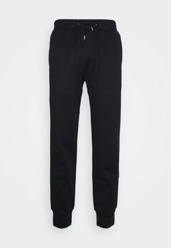 Paul Smith - GENTS STRIPE PANEL JOGGER - Jogginghose - black