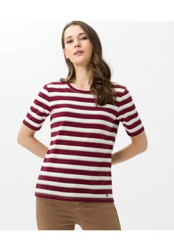 BRAX - T-Shirt print - raisin