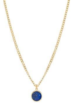 LOLA - FINE CURB MIT LAPISLAZULI HALBEDELSTEIN - Halskette - gold
