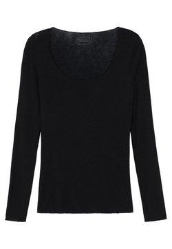Intimissimi - LANGARMSHIRT AUS CASHMERE ULTRALIGHT - Langærmede T-shirts - black