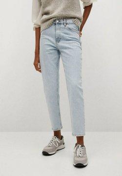 Mango - NEWMOM - Straight leg jeans - bleach blauw