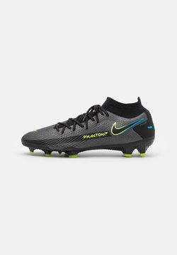 Nike Performance - PHANTOM GT PRO DF FG - Moulded stud football boots - black/cyber/light photo blue