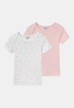 OVS - BABY GIRL 2 PACK - Camiseta estampada - brilliant white