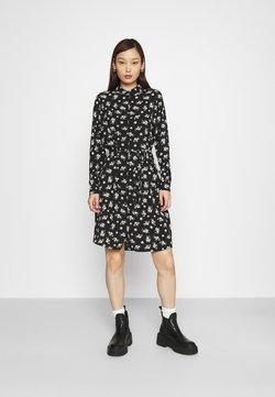 Vero Moda - VMSAGA COLLAR DRESS  - Paitamekko - black/dara