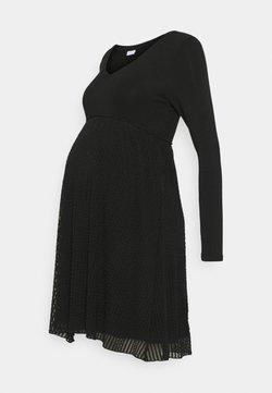 MAMALICIOUS - MLCAMILLE DRESS - Vestido ligero - black