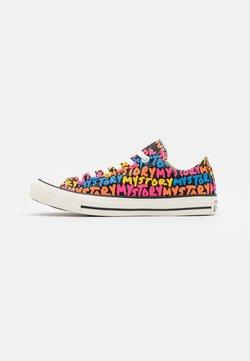 Converse - CHUCK TAYLOR ALL STAR MY STORY - Sneakers - black/bold mandarin/white