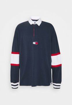 Tommy Jeans - BADGE RUGBY - Pullover - twilight navy