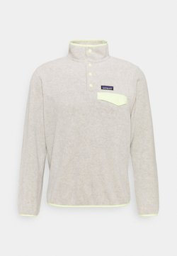 Patagonia - SYNCH SNAP - Fleecepullover - oatmeal heather/jellyfish yellow