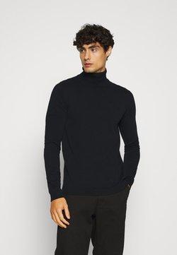 Solid - SDLUNO ROLLNECK - Pullover - black