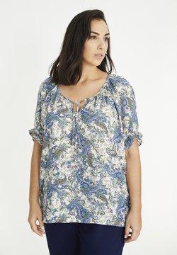 SPG Woman - MIT KASCHMIRMUSTER - Bluse - blau