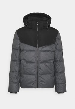 TOM TAILOR DENIM - SOFT PUFFER JACKET - Übergangsjacke - black