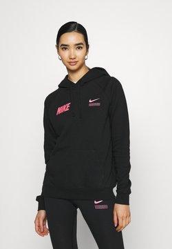 Nike Sportswear - Langarmshirt - black/hyper pink