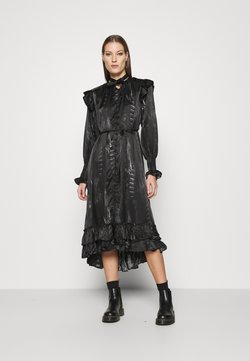 AllSaints - LARA VIOLA DRESS - Blusenkleid - black