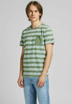 Jack & Jones - T-Shirt print - sea spray