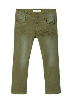 Name it - TWILLHOSE REGULAR FIT - Jeans slim fit - loden green