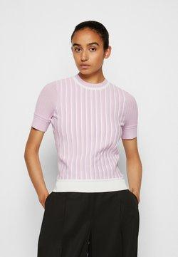 3.1 Phillip Lim - MOCK NECK - T-Shirt print - lavender
