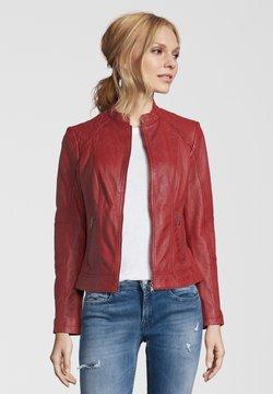 7eleven - CONA - Leren jas - red