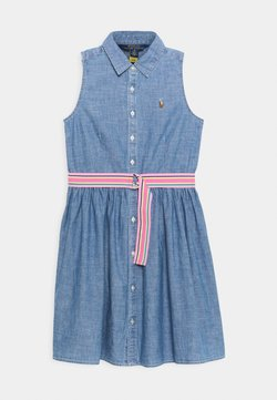 Polo Ralph Lauren - CHAMBRAY DRESSES - Jeanskleid - indigo