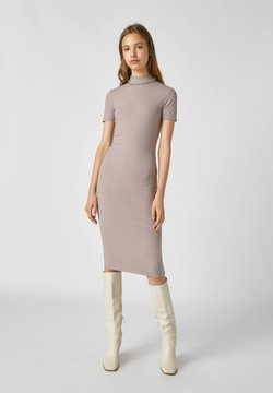 PULL&BEAR - Sukienka etui - light grey