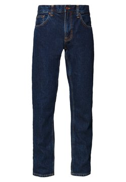Nudie Jeans - GRITTY JACKSON - Jeans straight leg - dark space