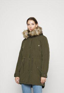Miss Selfridge - LUXE  - Płaszcz zimowy - khaki