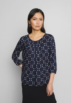 Betty & Co - Bluse - blue/white