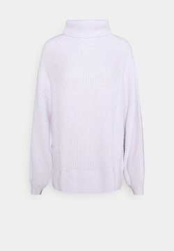 American Eagle - OVERSIZED TURTLENECK - Strickpullover - lively lilac