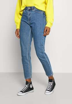 Vero Moda - VMJOANA MOM ANKLE - Jeans baggy - medium blue denim