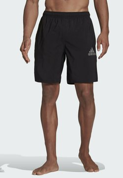 adidas Performance - SOLID SWIM SHORTS - Szorty kąpielowe - black