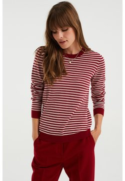 WE Fashion - Strickpullover - red