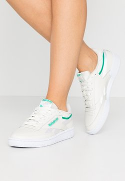Reebok Classic - CLUB C 85 - Sneaker low - chalk/green/white