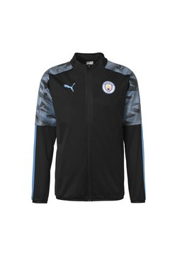 Puma - Laufjacke - puma black-team light blue