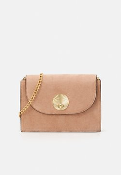 New Look - SHELLY  SHELL CHAIN SHOULDER - Umhängetasche - oatmeal