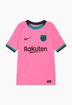Nike Performance - FC BARCELONA UNISEX - Equipación de clubes - pink beam/black