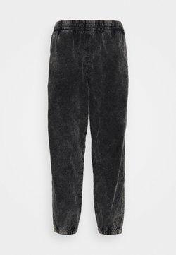 Weekday - JON WASHED JOGGERS - Pantalon classique - black