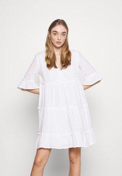 YAS - YASLIMA SHORT DRESS ICON - Kjole - bright white