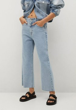 Mango - JULIETA - Relaxed fit jeans - middenblauw