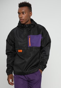 Cayler & Sons - BOX HALF ZIP - Windbreaker - black/purple