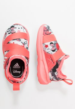 adidas Performance - FORTARUN X MINNIE  - Chaussures de running neutres - footwear white/semi fluo red/coreblack