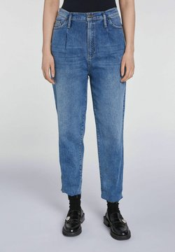 SET - SLOUCHY - Jeans Relaxed Fit - blue denim